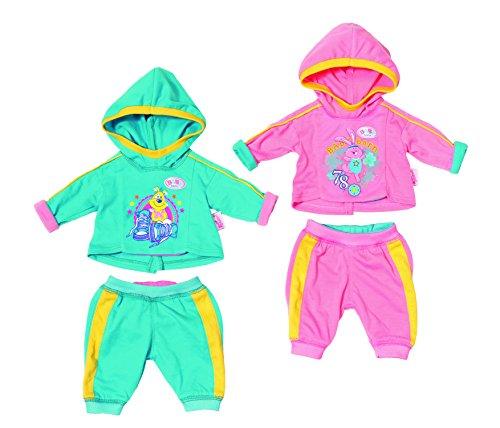 Zapf Baby Born Sporty Collection - Accesorios para muñecas (3 año(s), Verde, Rosa, 43 cm, Chica, 43 cm, CE)