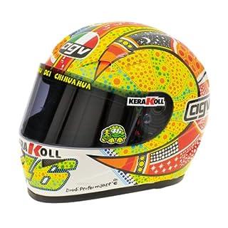 AGV Maßstab 1: 2Helm Valentino Rossi MotoGP Philip Island 2007