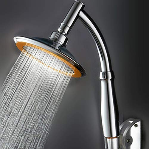 Dusche Armaturen 7 Colors Light Switching Shower Head Led Water Bath Bathroom Filtration Shower Reisen