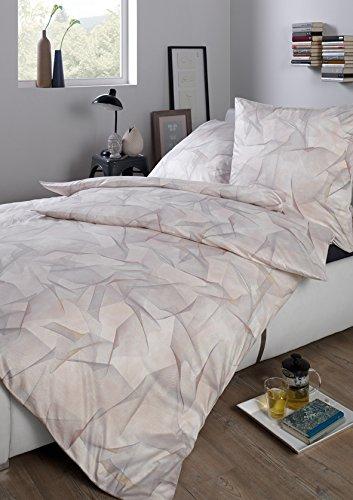 Estella Interlock Jersey Bettwäsche Enrik- natur 100% Baumwolle 135x200 cm/80x80 cm , GRATIS 1x Microfaser Kinderbettwäsche 135 cm x 200 cm GRATIS