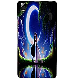 LENOVO A7000 LOVE COUPLE Back Cover by PRINTSWAG