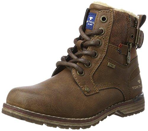 Tom Tailor Jungen 3771106 Stiefel, Braun (Rust), 36 EU
