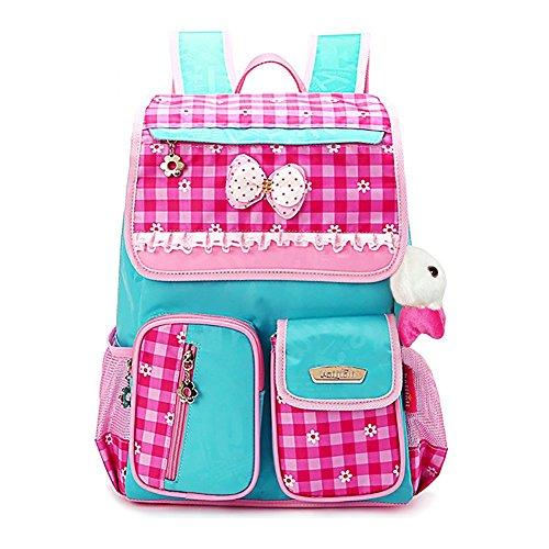 Imagen de essvita  impermeable  escolares de estudiante de estilo princesa para chica y niña estilo a rosa azul