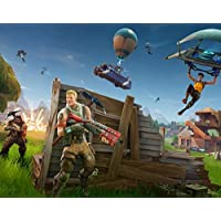 Fortnite Video Game Poster Print 10x8