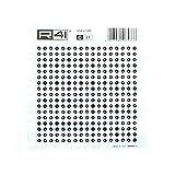 Trasferibili R41 per la realizzazione di PCB - C37 - diametro Piazzola 3,56mm/ diametro Foro 0,79mm - dimensioni foglio 120X120mm - 2 Pezzi