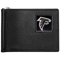 NFL Altanta Falcons Leather Bill Clip Wallet