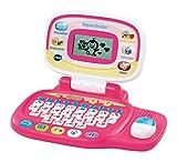 VTech - Pequeordenador, Ordenador infantil con más de 20 actividades de letras, números, animales, lógica y música (80-155457)