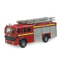 British Street Scenes 12cm Richmond Toys Volvo Fire Engine Die-Cast Model