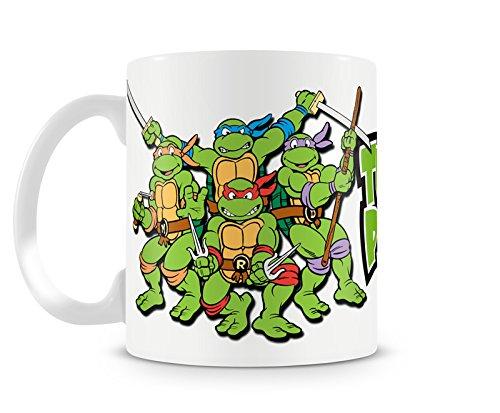 Offizielles Lizenzprodukt Turtle Power Kaffeetasse, Kaffeebecher