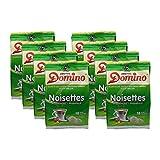 8x DOMINO Kaffeepads Haselnuss (á 18 Pads)