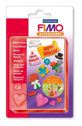 FIMO Motiv-Form Feiern & Geschenke, 11 Motive