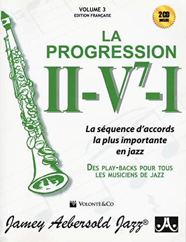 II-V7-I Progression V.3+CD Français