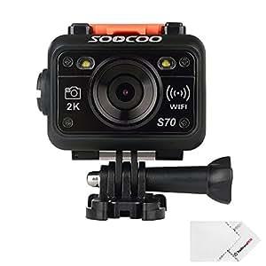 [Nouvelle Version] SOOCOO S70 Caméra de Sport HD et Action Wifi DVR Etanche 60M à 170°Grand Angle