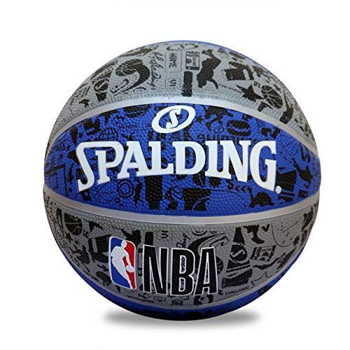 Spalding BB-SPALDING-GRAFFITE-BLUGRY-7 Basketball, Size 7 (Blue-Grey)
