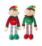 Dangle Elf's Set of 2 20cm Plush Soft Toys