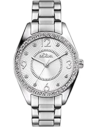 s.Oliver Damen-Armbanduhr Analog Quarz SO-3214-MQ