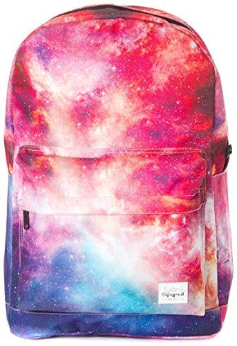 Spiral OG Unisex Rucksack, verschiedene Galaxy Prints & uni Farben Interstellar