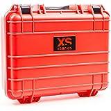 Xsories Big Black Box - Custom - Mallette étanche IP67 et antichoc  protection transport -pour votre matériel GoPro  - Rouge - Big(XL) - 6,7 Litres