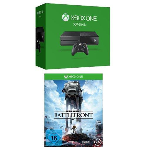 Xbox One 500 GB 2015 + Star Wars Battlefront (Battlefront Star Wars Xbox 360)