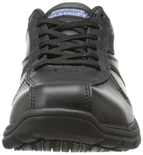 Skechers für Arbeit 77036 Hobbes Oxford Black