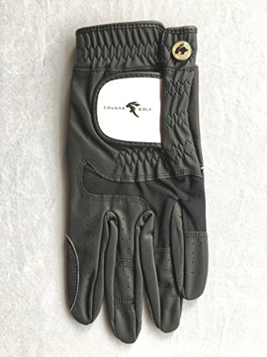 Cougar Golf Golf Handschuh Linke Hand Größe: Medium Large Schwarz