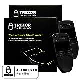 2PACK schwarz trezor Hardware Wallet Vault Sicher für Digital Virtuelle Währung Bitcoin Litecoin