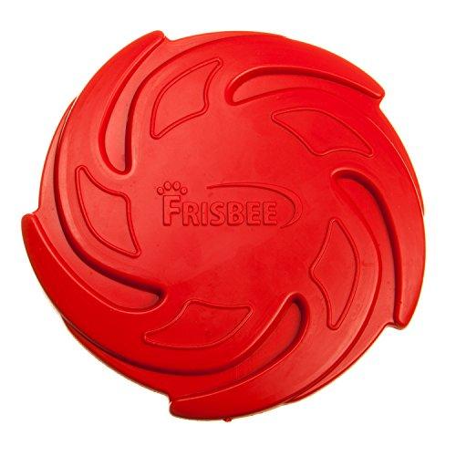 Tyker - Frisbee für Hunde - Naturgummi - schwimmend - bissfest - rot