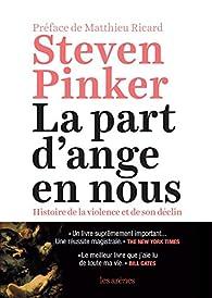 La part d'ange en nous par Steven Pinker