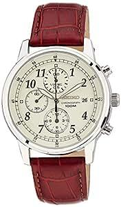 Seiko Dress Chronograph White Dial Men's Watch - SNDC31P1