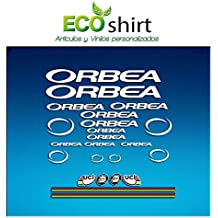 PEGATINAS ORBEA R71 VINILO ADESIVI DECAL AUFKLEBER КЛЕЙ MTB STICKERS BIKE (BLANCO)