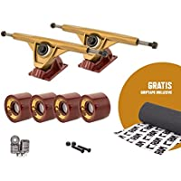 'RAM UB Trucks 7 | 180 mm Longboard Setup Set incluso Grip Tape