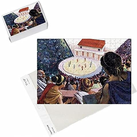 Photo Jigsaw Puzzle of Greek theatre
