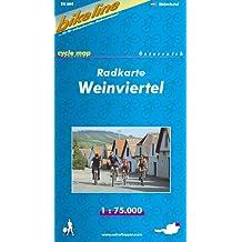 Bikeline Radkarte Weinviertel 1 : 75000. Österreich, GPS-tauglich mit UTM-Netz