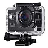 VicTsing 1080P FHD Action Kamera mit 5,1 cm HD Display, 170 ° Weitwinkelobjektiv, 2 MP...