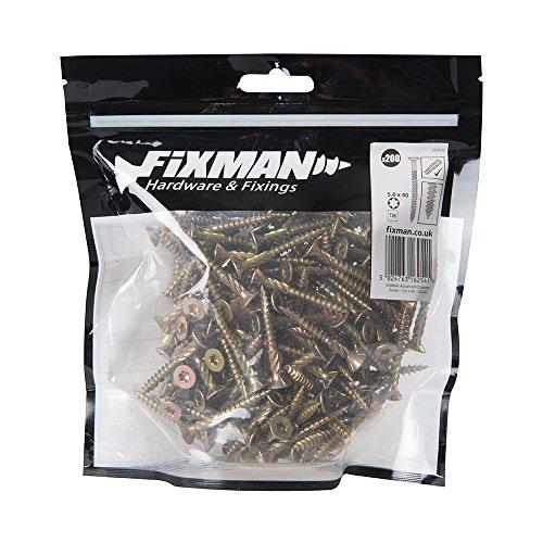 Fixman 585359 Clavos Lisos Galvanizados Calibre Set de 5000 Piezas