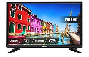 Nikkei NL2405FHD Téléviseur LED Full HD 1920 x 1080 p 6 W 6,5 ms DVB-T2 Noir 61 cm 61 cm