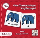 Mein Zweisprachiges Aufdeckspiel (Kinderspiel), Tiere, Türkisch