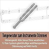 Sinuston Tonhöhe G3 - 195,998 Hz - vierte Gitarrensaite g - kleines g