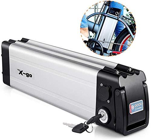 X-go E-Bike Pedelec Akku 36V 10Ah Lithium-Li-Ionbatterie E-Bike Entladung elektrische Fahrräder (unten Entladung)