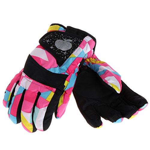 Haven Shop warme Kinderhandschuhe, Baby Winter, wasserdicht, warme Fäustlinge für Jungen und Mädchen, Kinder im Freien, Ski- und Reithandschuhe, Geschenk xl P