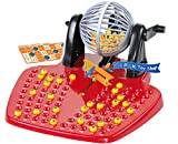 BINGO LOTTO GAME 48 CARDS 100 COVERING CHIPS 90 BINGO BALLS AND THE BINGO BALL DISPENSER