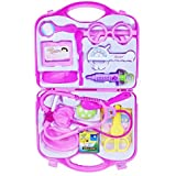 Emob Medical-Kit Doctor Role Play Toy Set With Incredible Detailing For Kids (Pink)