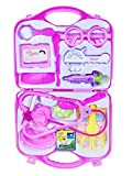 #5: Emob Medical-Kit Doctor Role Play Toy Set with Incredible Detailing for Kids (Pink)