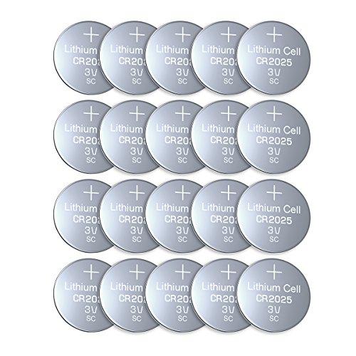 Knopfzellen für Waagen
