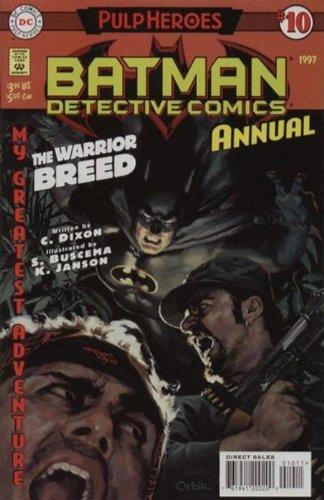 Batman Detective Comics Annual # 10 The Warrior Breed (1997)