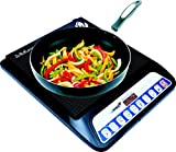 #7: Orbon RVT-849 2000-Watt Induction Cooktop ( Black ) With Cord/With 8 Level Intelligent Cooking Function