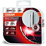 OSRAM XENARC NIGHT BREAKER UNLIMITED D2S HID Lampe à Décharge 66240XNB-HCB Duo Box Set de 2