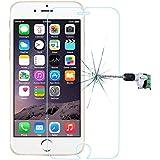 """Film vitre de protection écran iPhone 6/6S ( 4,7 pouces) en verre trempé haute transparence et ultra résistant (incassable, inrayable 9H) et Ultra Slim (0,26mm) avec bords arrondis, pour une protection optimal de votre téléphone iphone 6/6S (4.7"""")"""