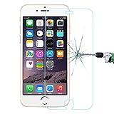 Film vitre de protection écran iPhone 6 PLUS / 6S Plus / 6+/6S+ ( 5,5 pouces) en verre trempé haute transparence et ultra résistant (incassable, inrayable 9H) et Ultra Slim (0,26mm) avec bords arrondis, pour une protection optimal de votre téléphone