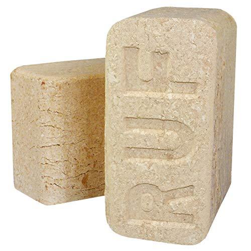 RUF Buchenbrikett Holzbrikett 100% Buche Buchenholz Brikett Hartholz ohne chemische Bindemittel (60kg)
